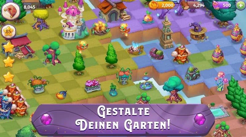 Merge Garten Kostenlose Spiele Apps