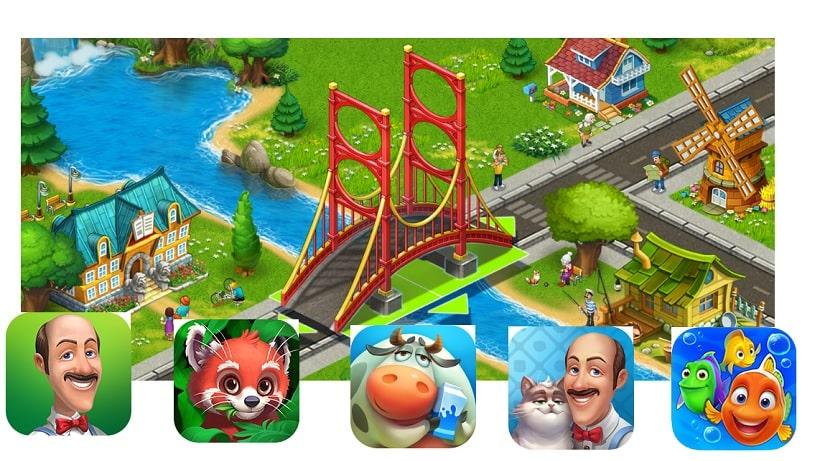 Die beliebtesten Playrix Spiele für Android gibt es hier im Überblick!