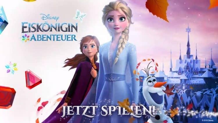 120 neue Levels in Disney Eiskönigin-Abenteuer erhältlich