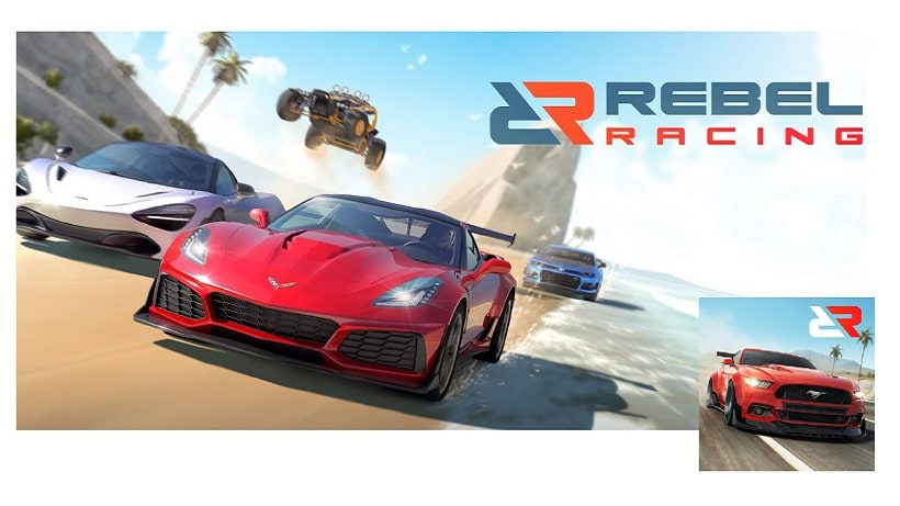 Rast in Rebel Racing jetzt allein gegen die Zeit