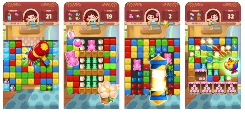 Peko Blast Puzzle ist ein toller Spaß