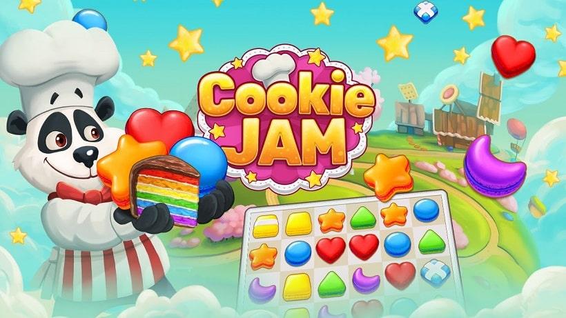 Cookie Jam könnt ihr hier kostenlos spielen