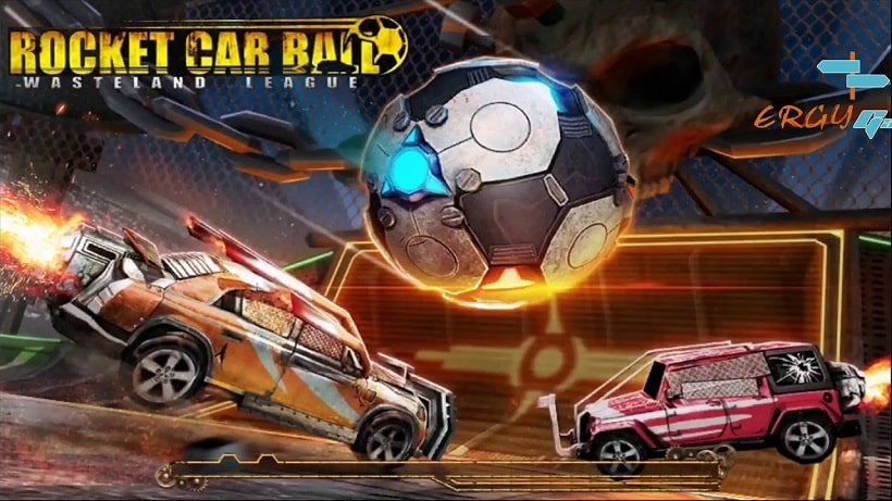 Schießt Tore im Gratisspiel Rocket Car Ball