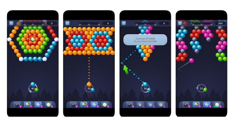 Bubble Pop – Puzzle Game Legend ist kein besonderer Bubble Shooter
