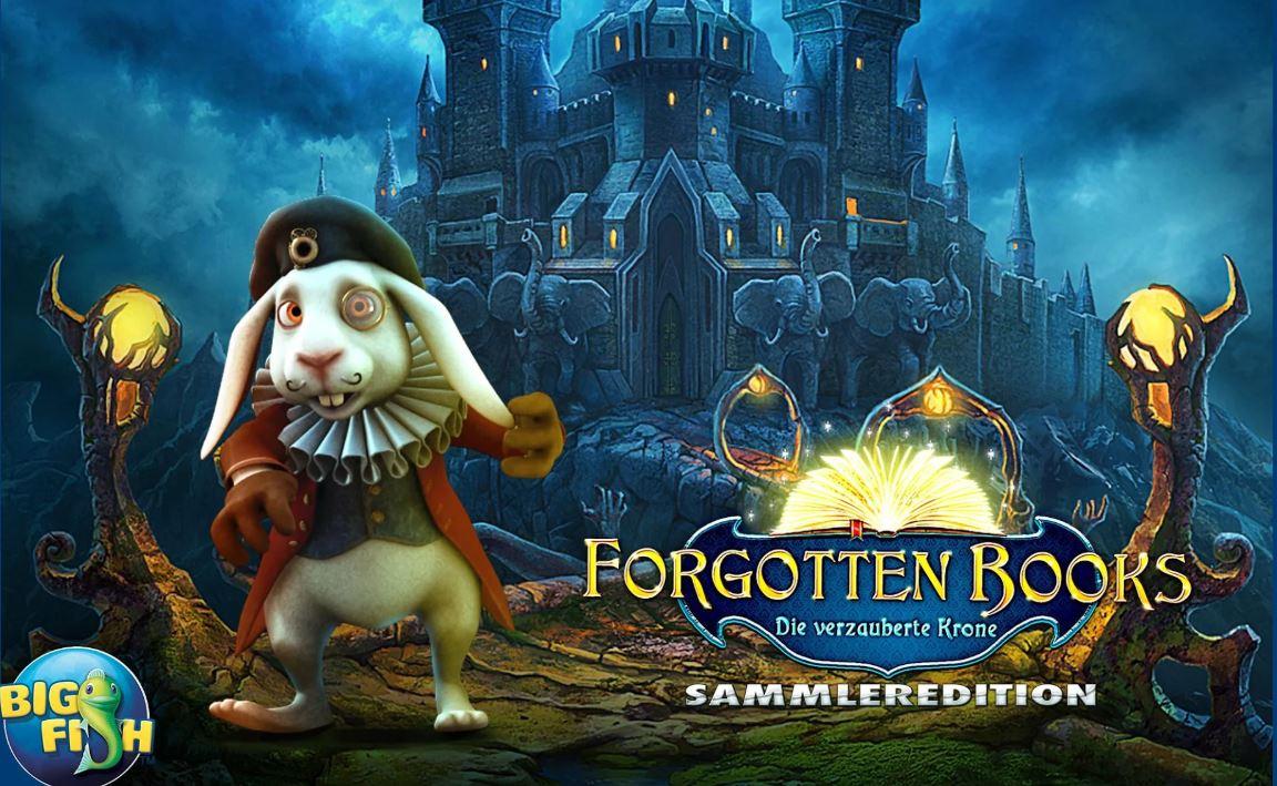 Wimmelt euch durch das Spiel Forgotten Books – Die Krone