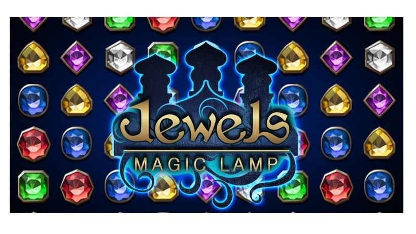 Jewels Magic Lamp