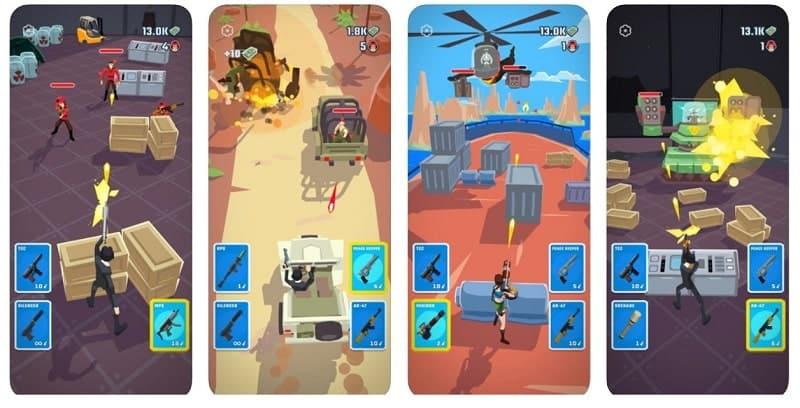 Agent Action heißt das neue Spiel von SayDames