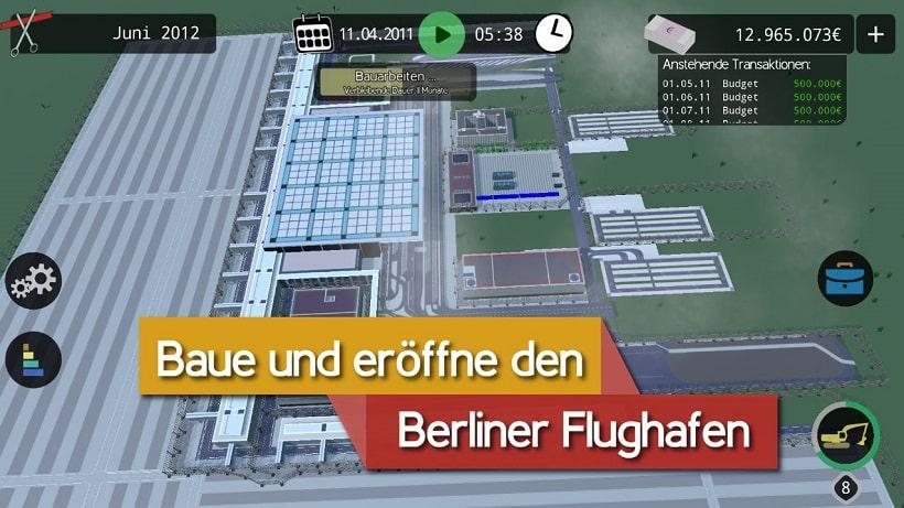 Wie schnell baut ihr den Berliner Flughafen auf?