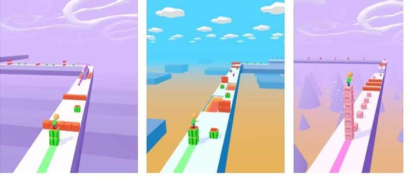 Cube Surfer