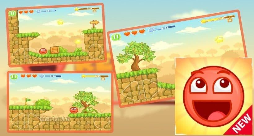 Red Ball 5 ist ein süßes Spiel für alle Altersklassen