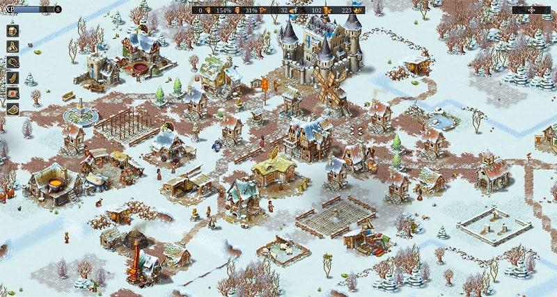 Townsmen spielt auch im Winter