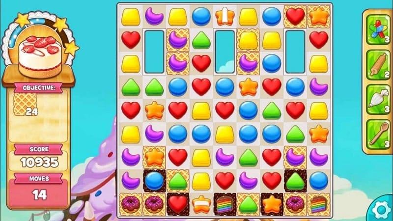 Cookie Jam bietet euch 6.000 knallbunte und leckere Levels