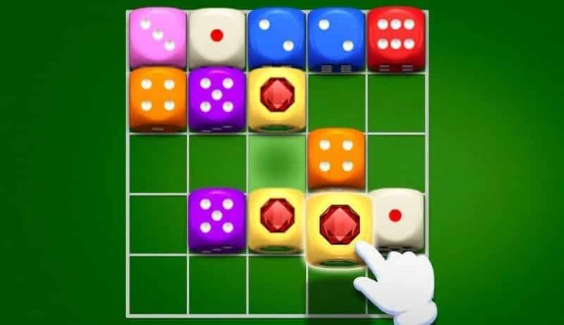 Das coolste Merge-Würfelspiel heißt Dicedom Merge Puzzle