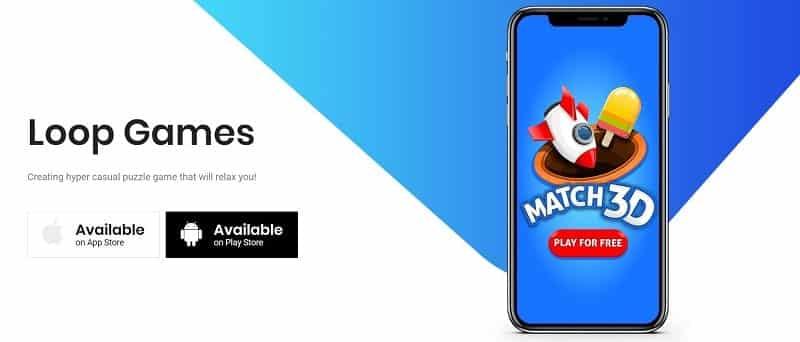 Match 3D stammt von Loop Games aus der Türkei