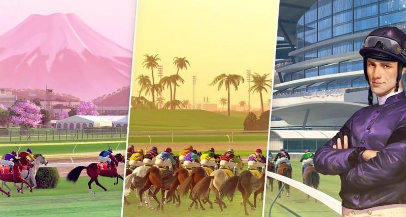 Rival Stars Horse Racing ist grafisch sehr gut gelungen