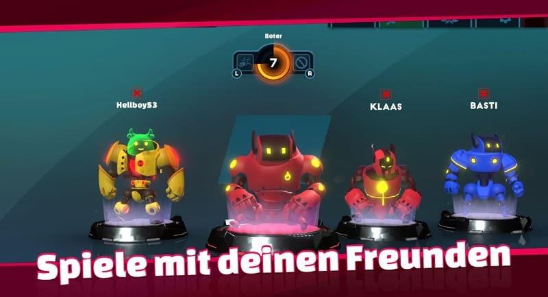 Bomb Bots Arena ist ein Multiplayerspiel
