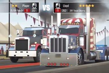 Es sind neue Trucks in Big Rig Racing verfügbar