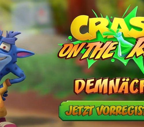 Crash Bandicoot On the Run erscheint demnächst