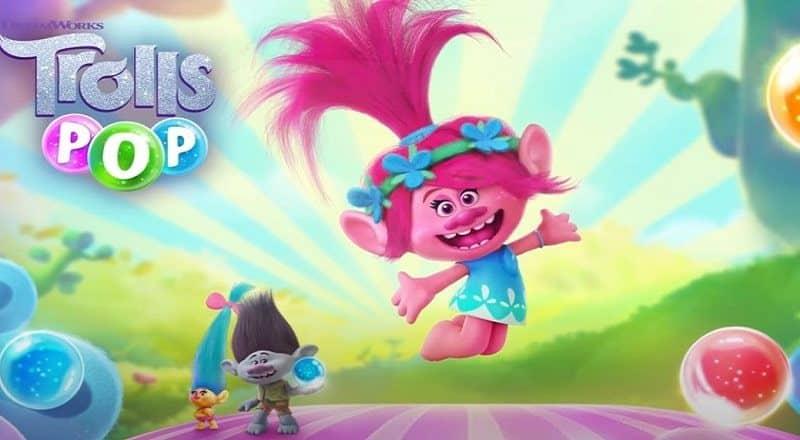 DreamWorks Troll Pop