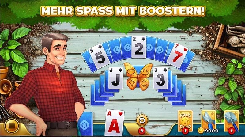 Solitales - ein schönes Spiel, das Kartenspielliebhabern gefallen wird
