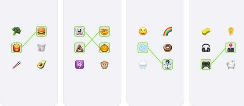 Emoji Puzzle bietet an sich viele Spielchen in einem