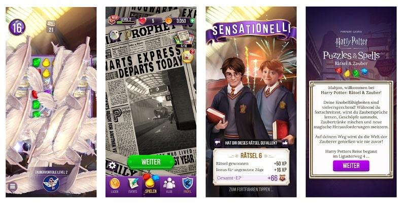 Harry Potter - Rätsel und Zauber