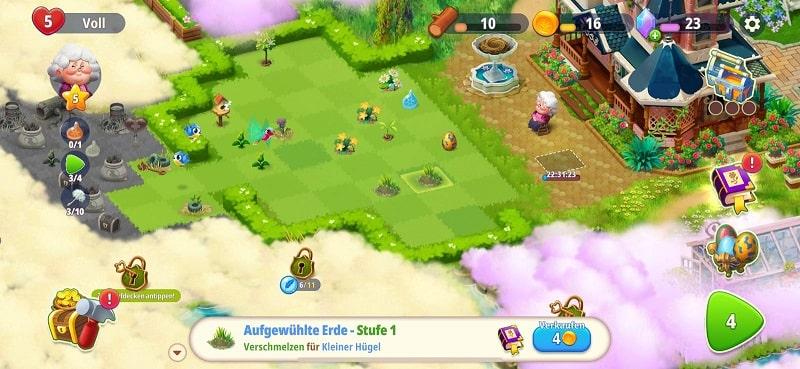 Merge Gardens ist ein nettes Spiel von Futureplay aus Finnland
