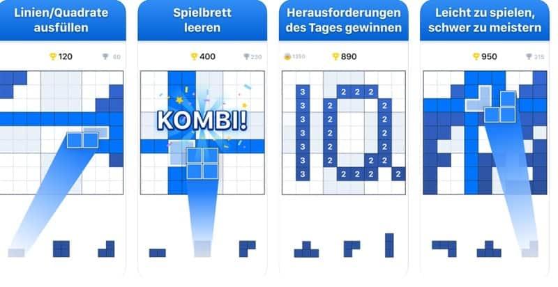 Dies sind die 7 besten Block Puzzles - mit dabei ist auch BlockuDoku