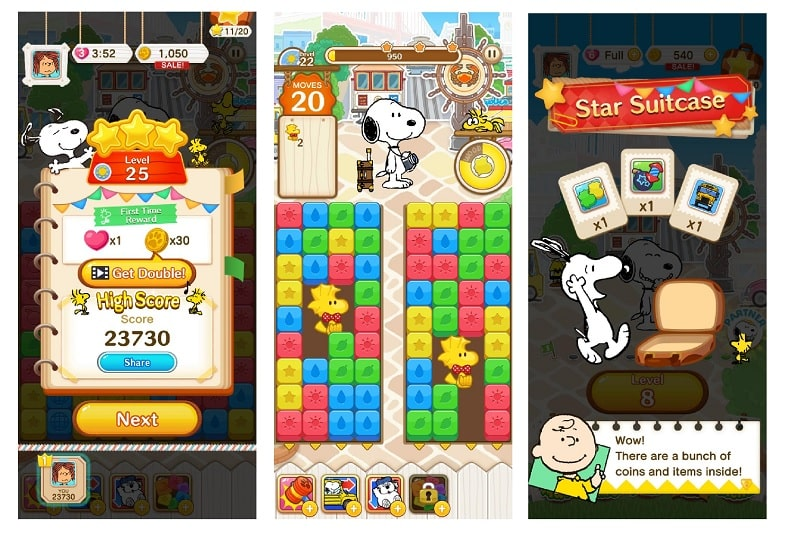 SNOOPY Puzzle Journey - holt euch hier Tipps