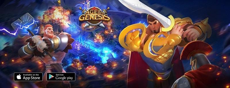 Age of Myth Genesis ist ein strategisches Handyspiel, das auf einem alten Krieg basiert.