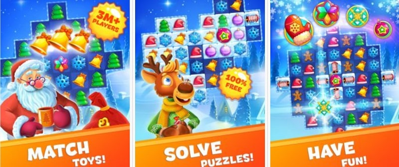 Christmas Sweeper 3 bietet euch über 800 Levels