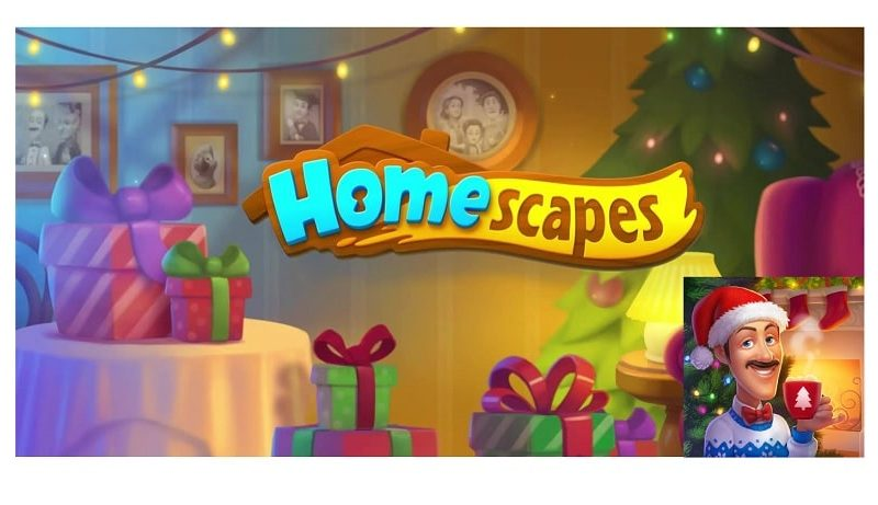 Sammelt neue Deko in Homescapes