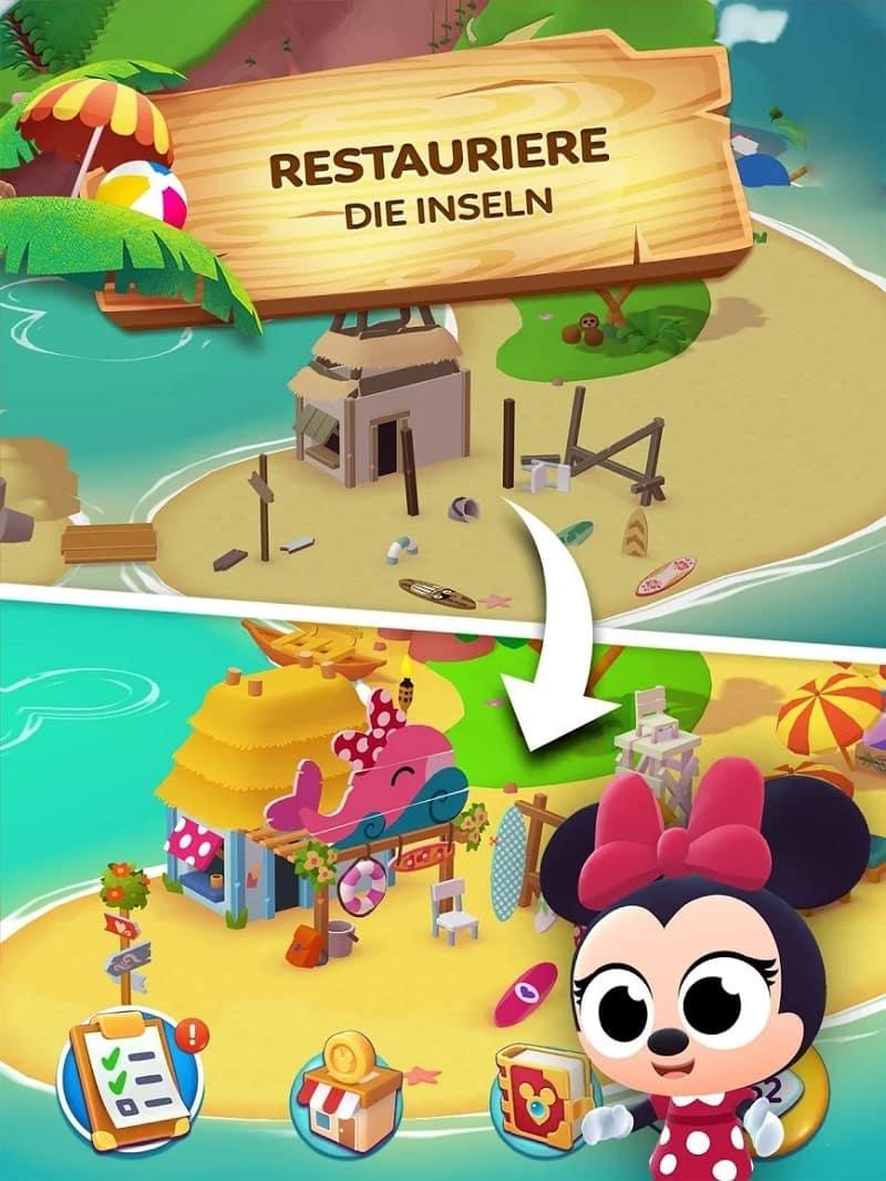 Disney Getaway Blast - es soll Kinder geben, die Minnie Maus nicht (mehr) kennen
