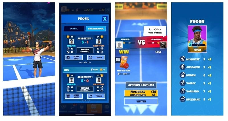 Tennis Go World Tour 3D braucht ein Update