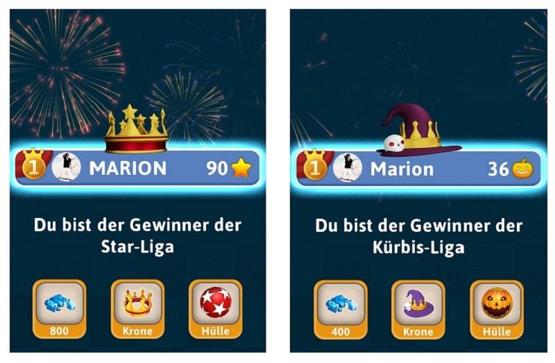 Trivia Race 3D  ist in verschiedene Ligen unterteilt