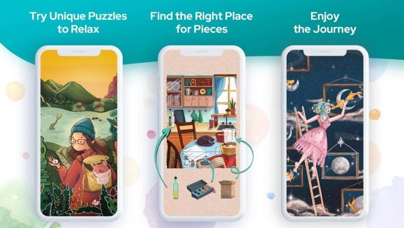 Art Puzzle ist eine tolle App