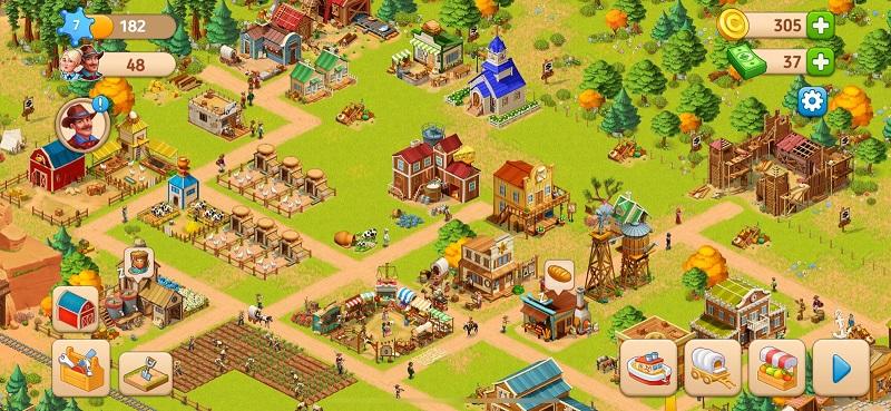 Schon nach wenigen Spielminuten kann eure Farm so aussehen