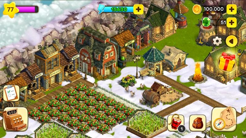 Kostenlose Spiele-Apps - das sind Bilder zum Spiel Klondike Adventures