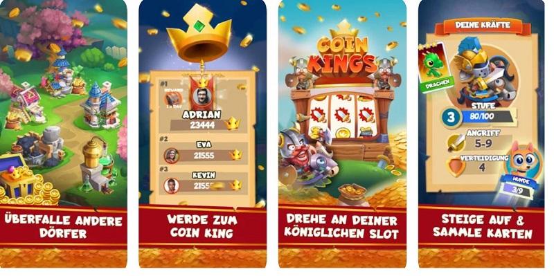 Coin Kings gibt es für iOS und Android