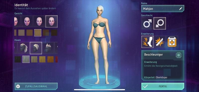 Wie wollt ihr in Cyberika aussehen?