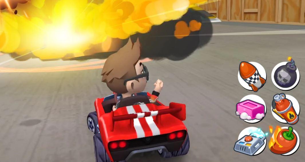 Boom Karts ist wie Mario Kart