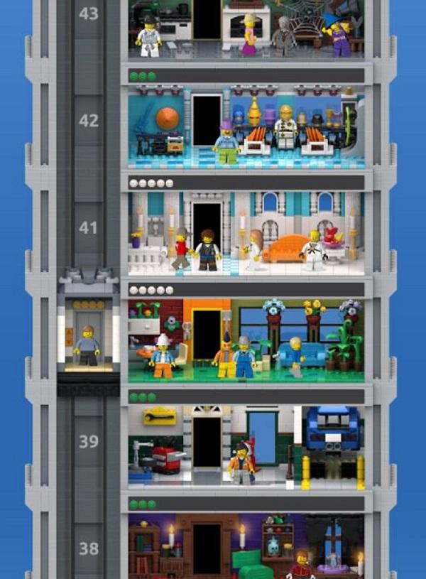 Kostenlose Spiele-Apps - das sind Bilder zum Spiel Lego Tower