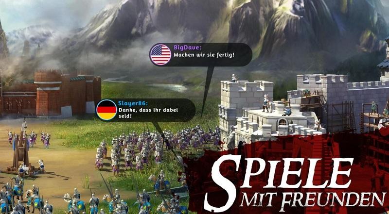 March of Empires lässt euch gegen eure Freunde spielen