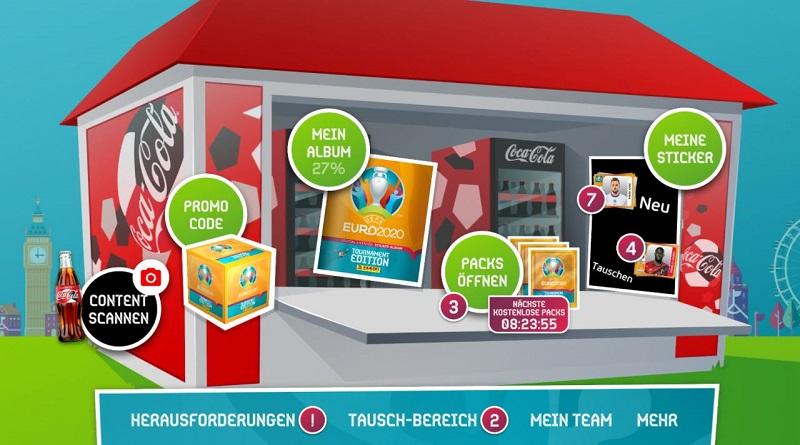 EURO 2020 Panini Sticker Album - so schaut es auf eurem Endgerät aus