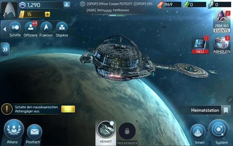 Star Trek Fleet Command wird regelmäßig aktualisiert