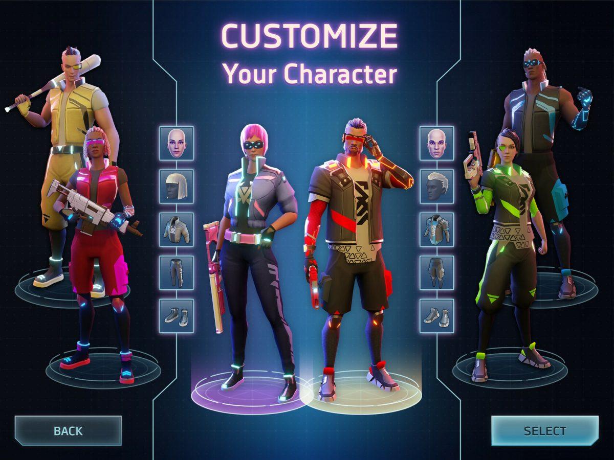 Cyberika bietet euch verschiedene Anpassungsmöglichkeiten für eure Charaktere