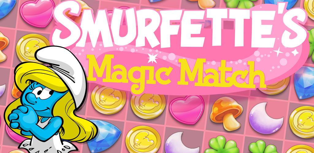 Smurfettes Magic Match ist kostenlos