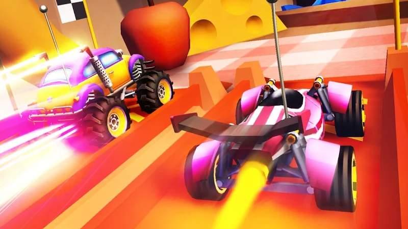 Nitro Jump Racing bietet euch 50 Tracks