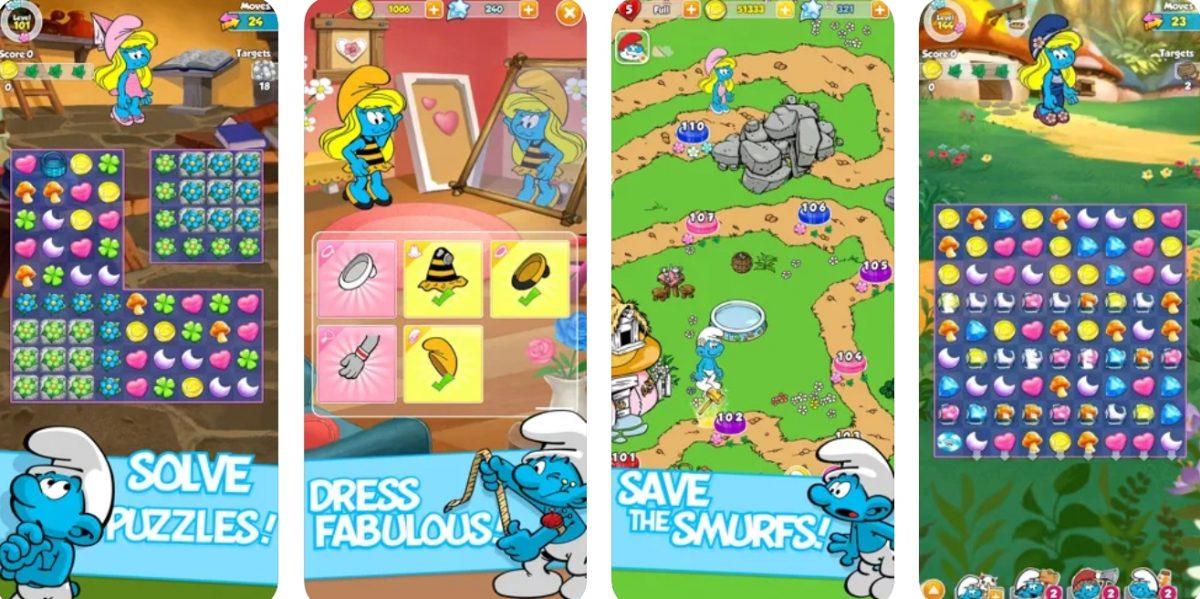 Smurfettes Magic Match