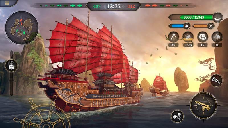 King of Sails - mit dabei ist die Long-Wang